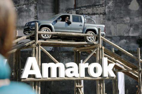 VW está en La Rural con Saveiro, Amarok V6 y sus camiones