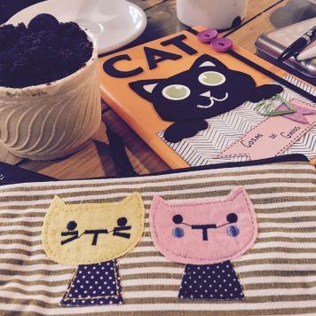 Estuche y libreta Sorteo Cosas de Gatos