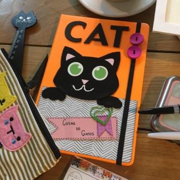 Libreta única para amantes de los gatos, Sorteo Cosas de Gatos
