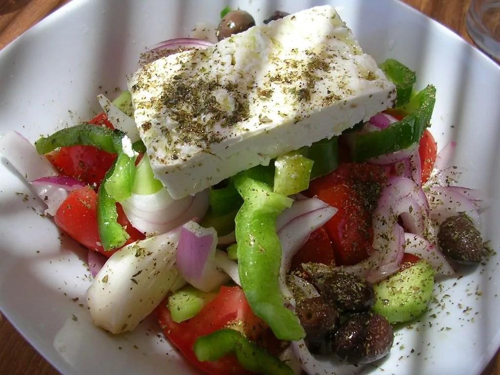 L'insalata greca e la mia Voglia di vacanze…