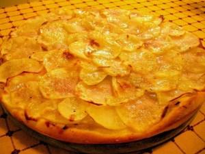 pizza con patate