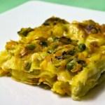 lasagne con pasticcio di verdure