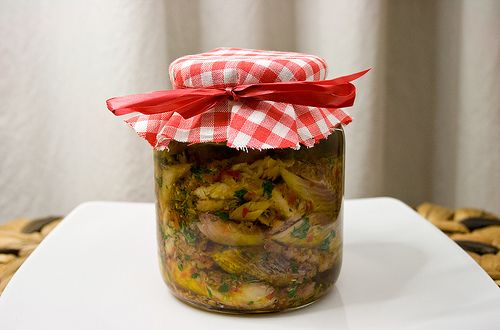 polenta e renga di Parona