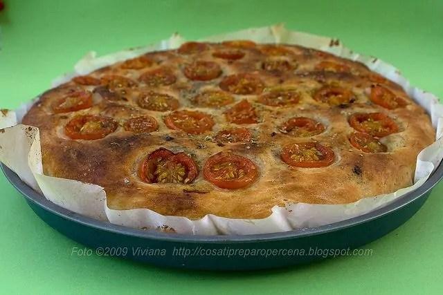 pizza ripiena con lievito di birra