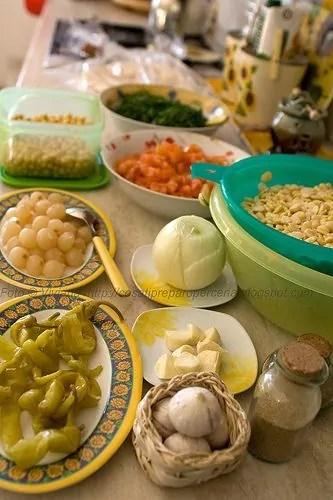 ingredienti falafel
