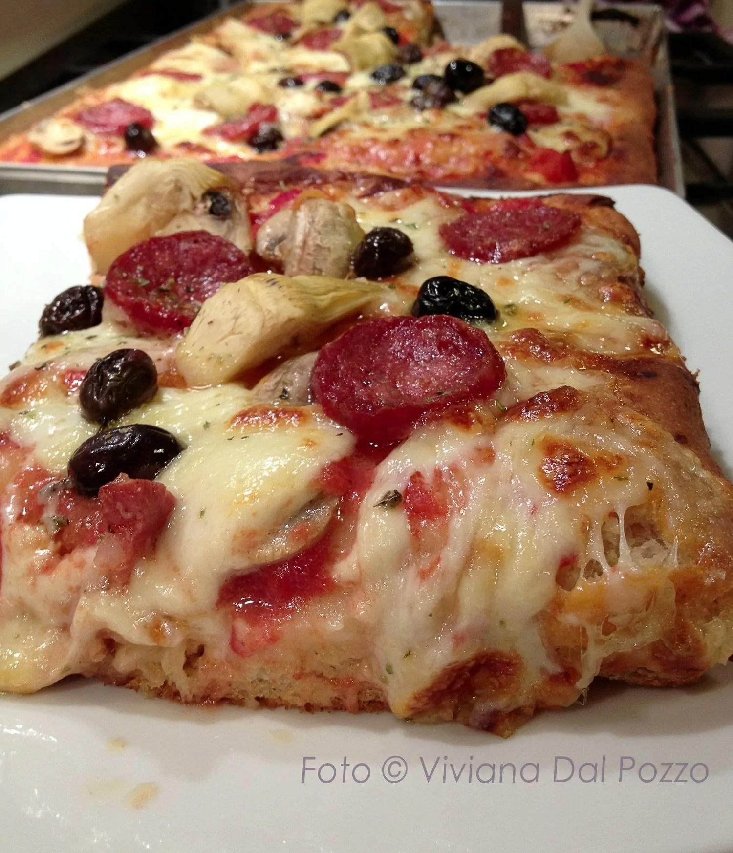 La Pizza e lo Sfincione senza Impasto oleee…