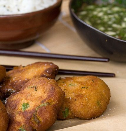 frittelle di pesce thai