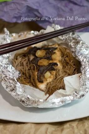 pesce al cartoccio al miso ricetta