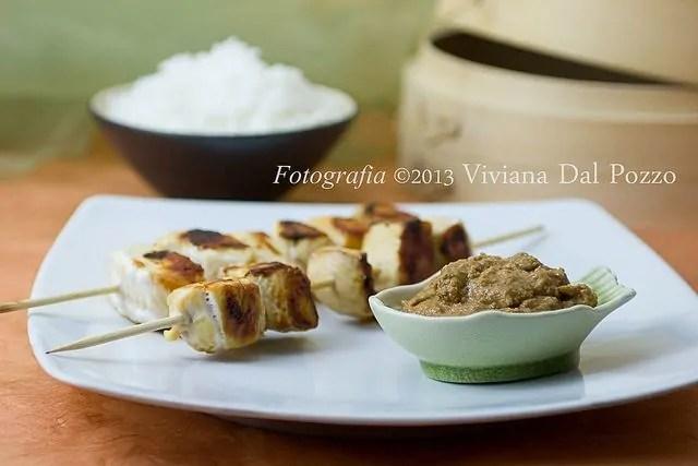 Pollo e Salsa Satay, e Grazie :-)