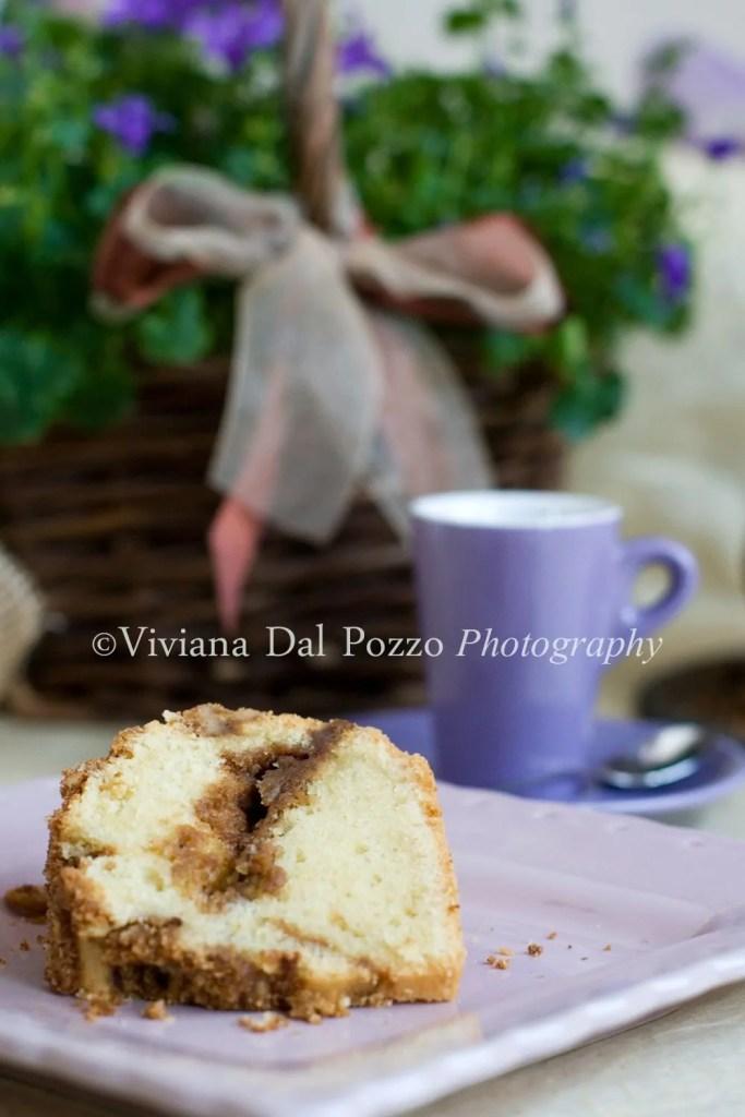 fetta Cinnamon swirl cake