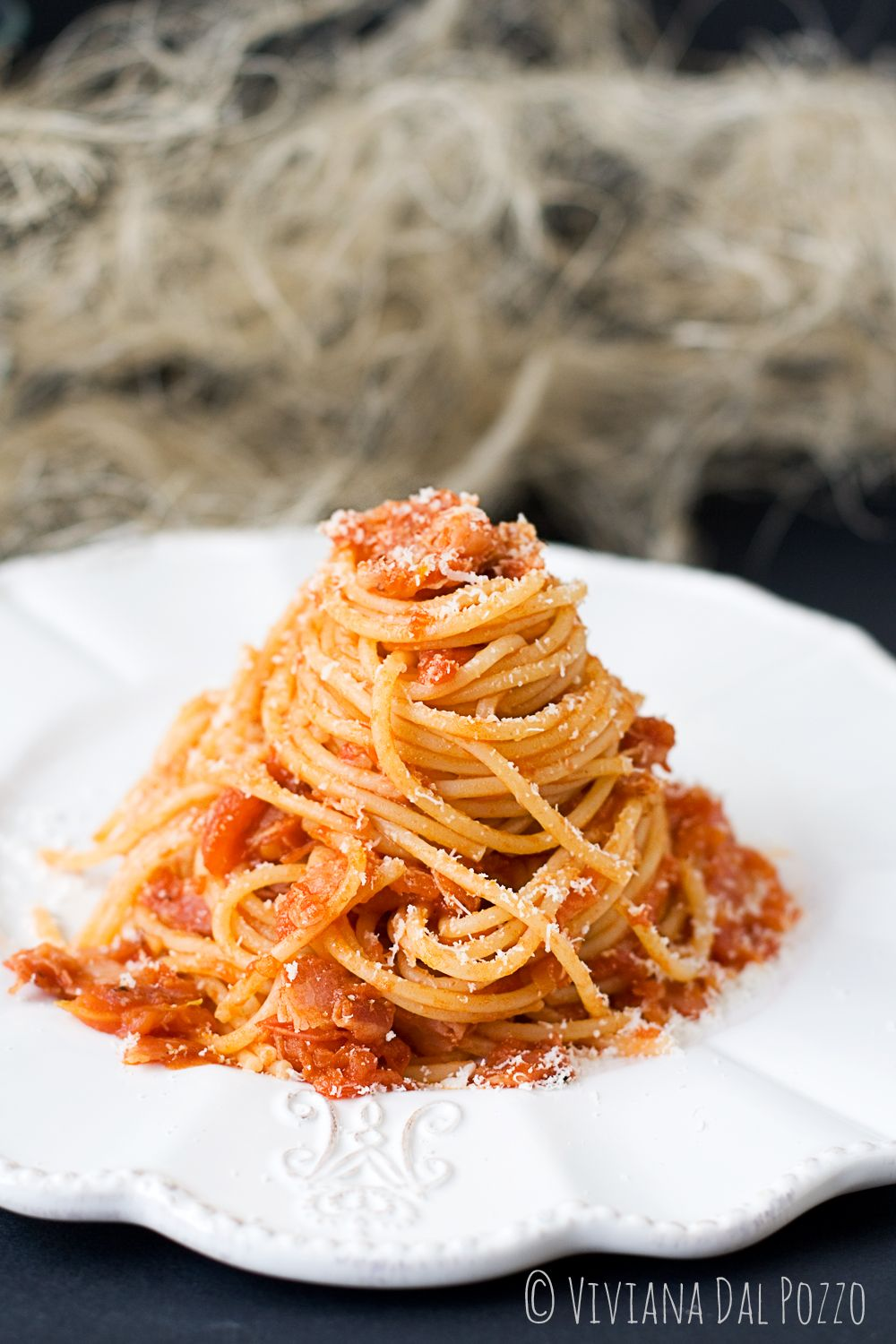 Spaghetti all'Amatriciana!