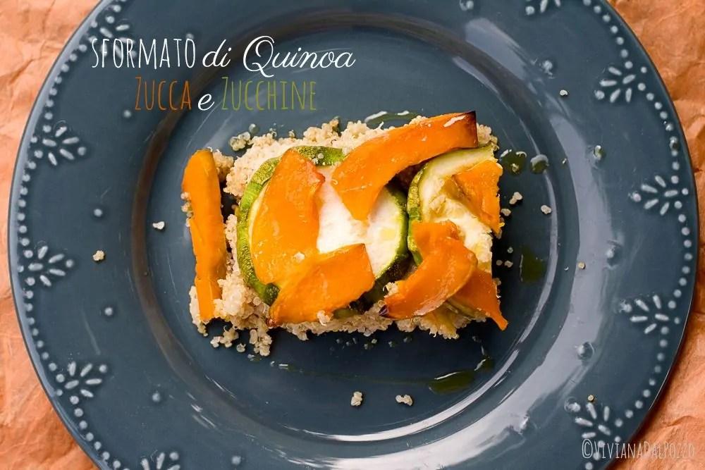 Sformato di Quinoa con zucca e zucchine