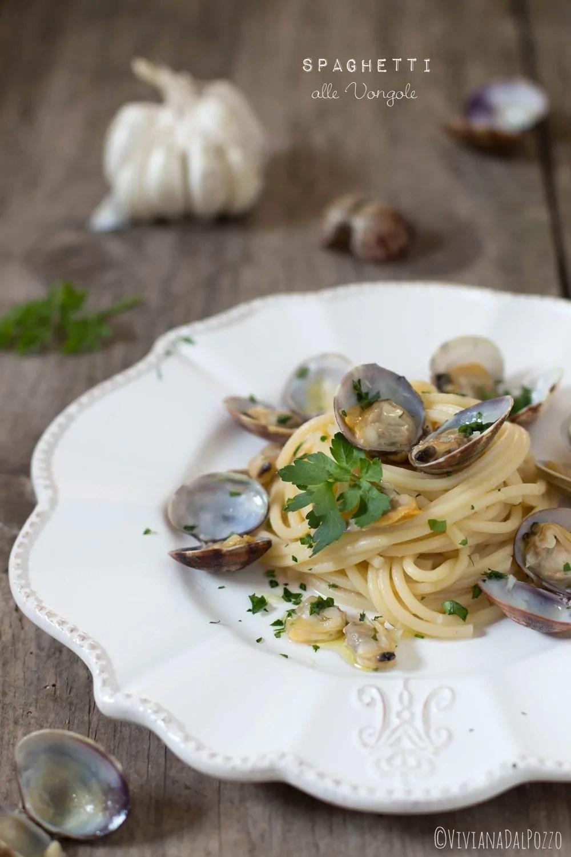 Capellini Al Forno Giada spaghetti alle vongole