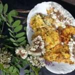 frittelle di fiori di acacia