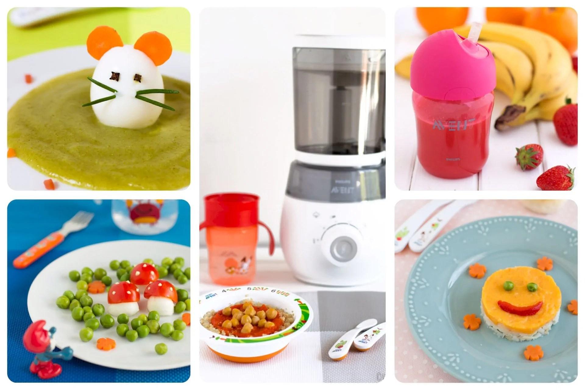 Pappe, colori e alimentazione per bambini