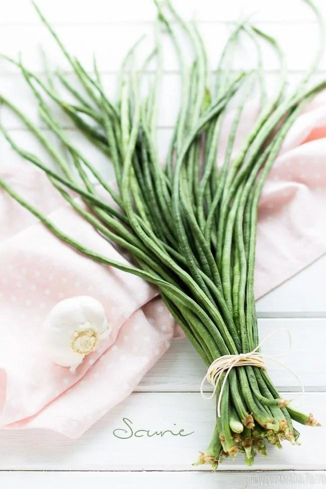 I fagioli Asparago e le Scurie all'Acciuga