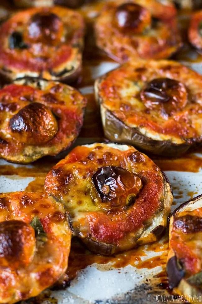 Pizzette di Melanzane al forno  Cosa ti preparo per Cena