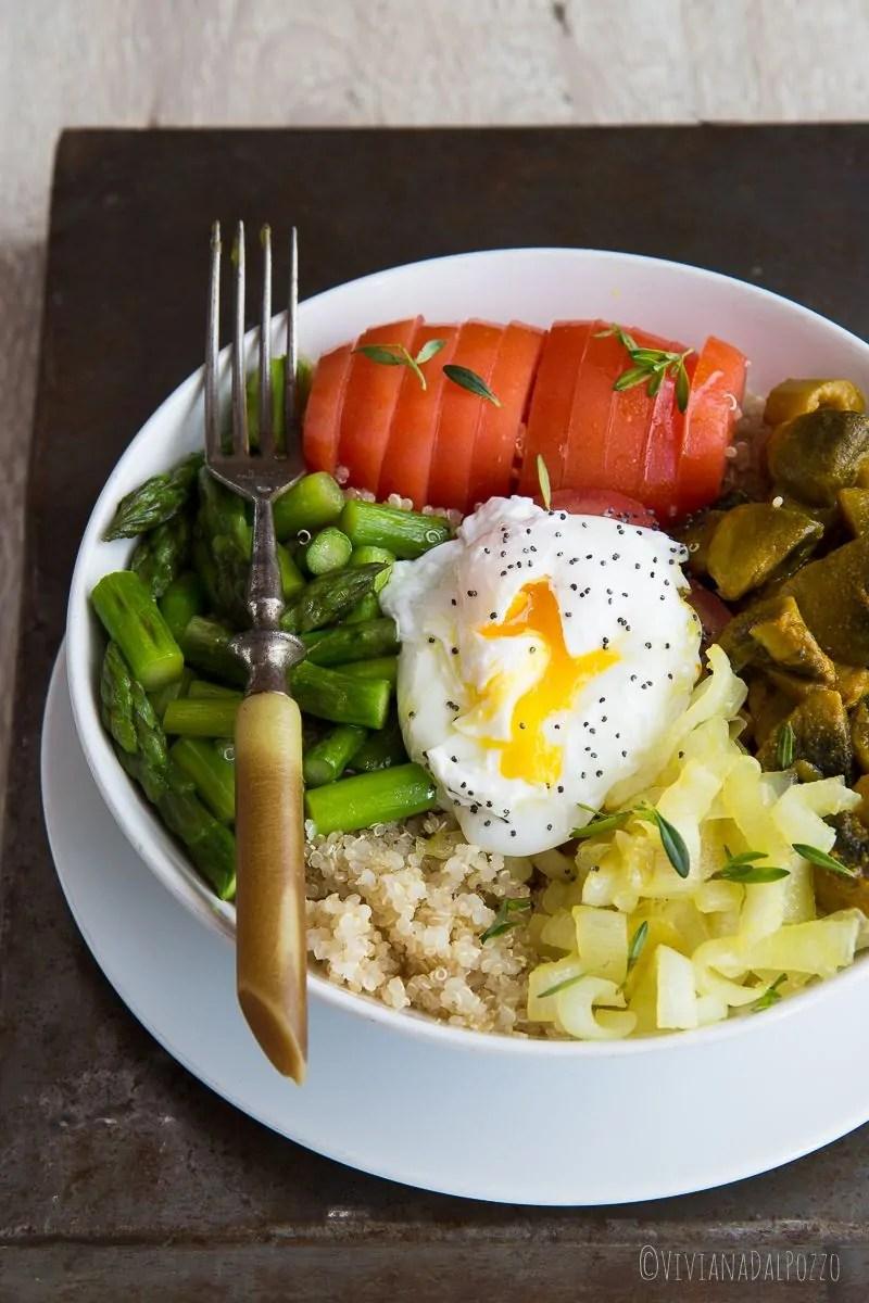 come si prepara l'insalata di quinoa