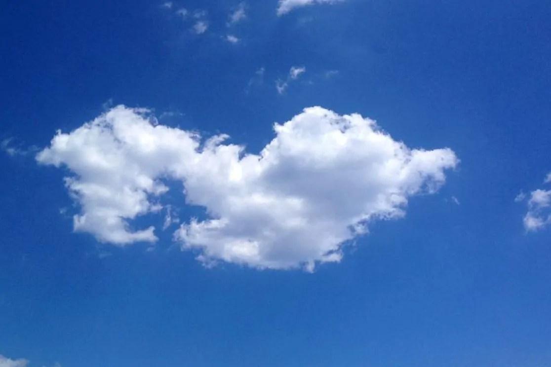 Un cuore tra cielo e terra.