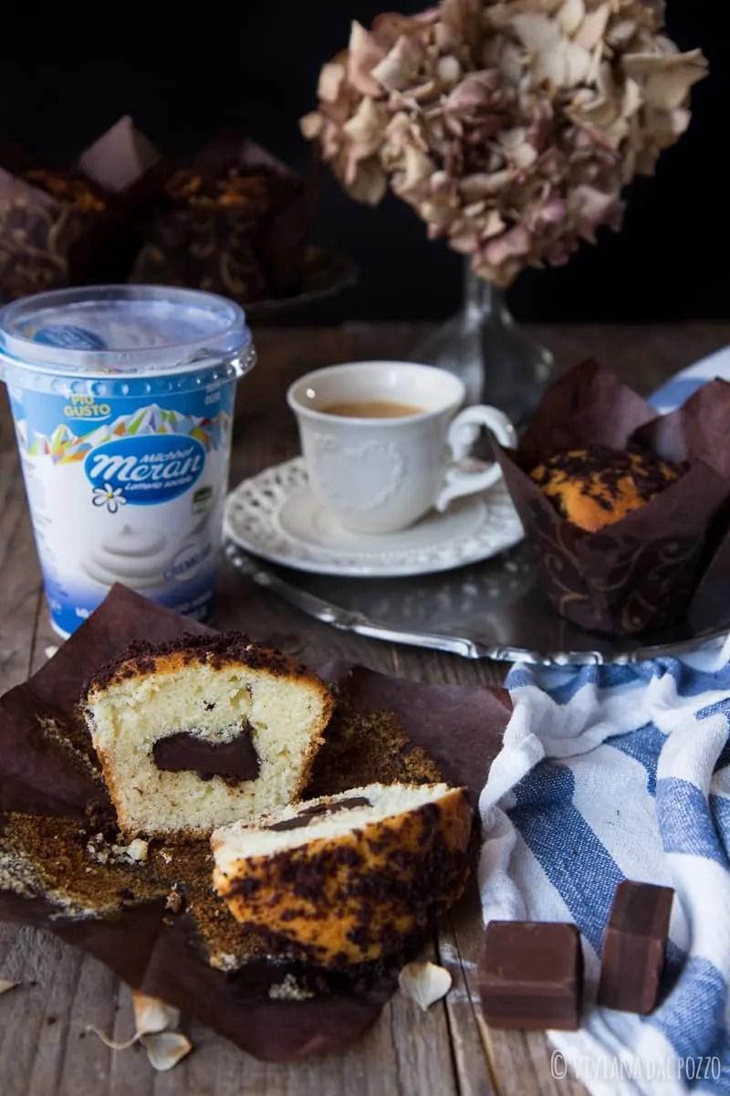 Muffin allo yogurt soffice e buono