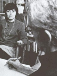 janet e marito in una seduta