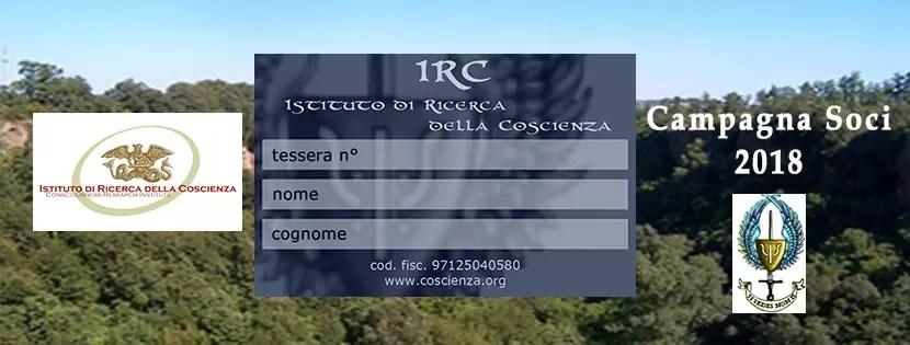 Diventa socio I.R.C.
