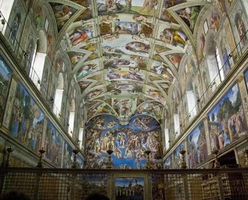 Cappella Sistina di Antoine Taveneaux