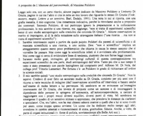 Dichiarazione Macioti Polidoro