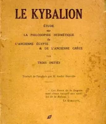 Il Kybalion copertina