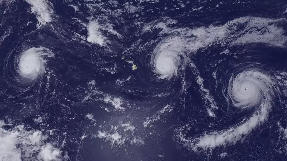 Gli Uragani di oggi più potenti e veloci rispetto a 30 anni fa