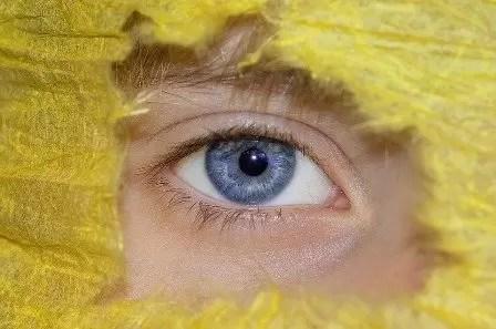 occhi umani - Copertina