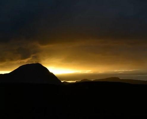 tramonto scozia