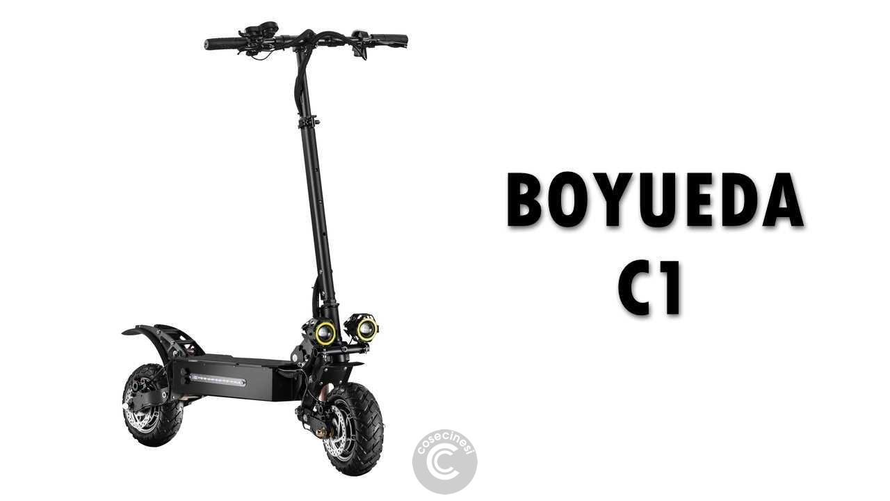 Codice sconto coupon  BOYUEDA C1 Folding Electric Scooter