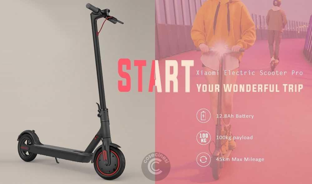 Codice sconto coupon  Xiaomi Electric Scooter Pro [UK Warehouse]
