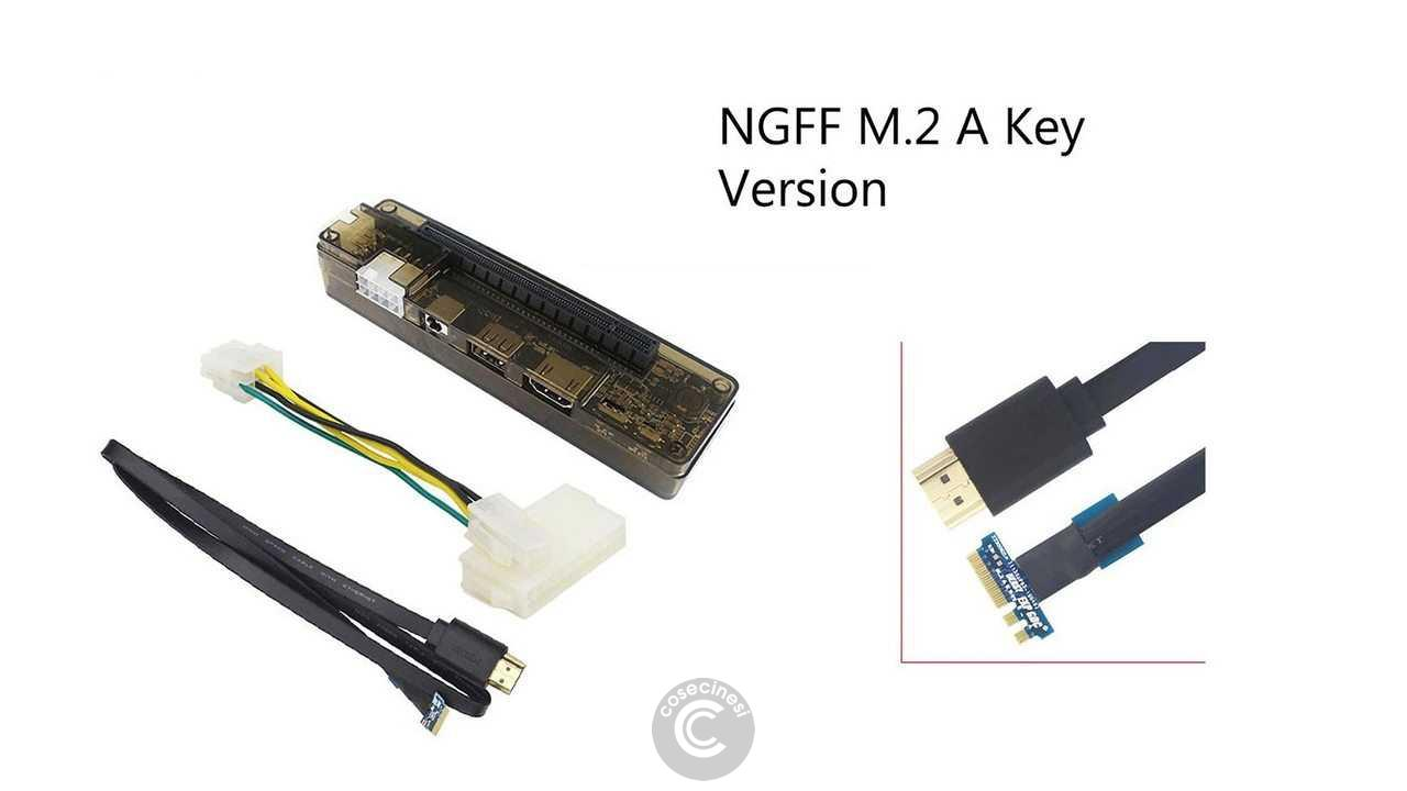 Codice sconto coupon Caturda NGFF M.2 A Key EXP GDC External Laptop Video Card Dock