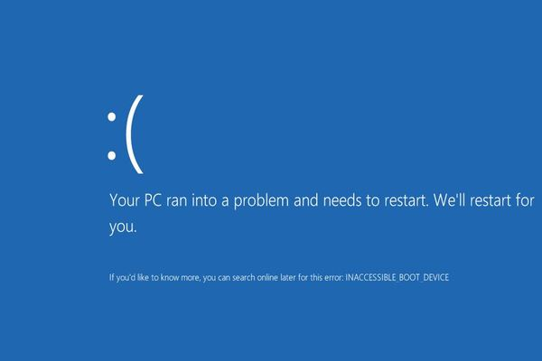 Discover How to Fix Inaccessible Boot Device In Your Windows 10 Device!