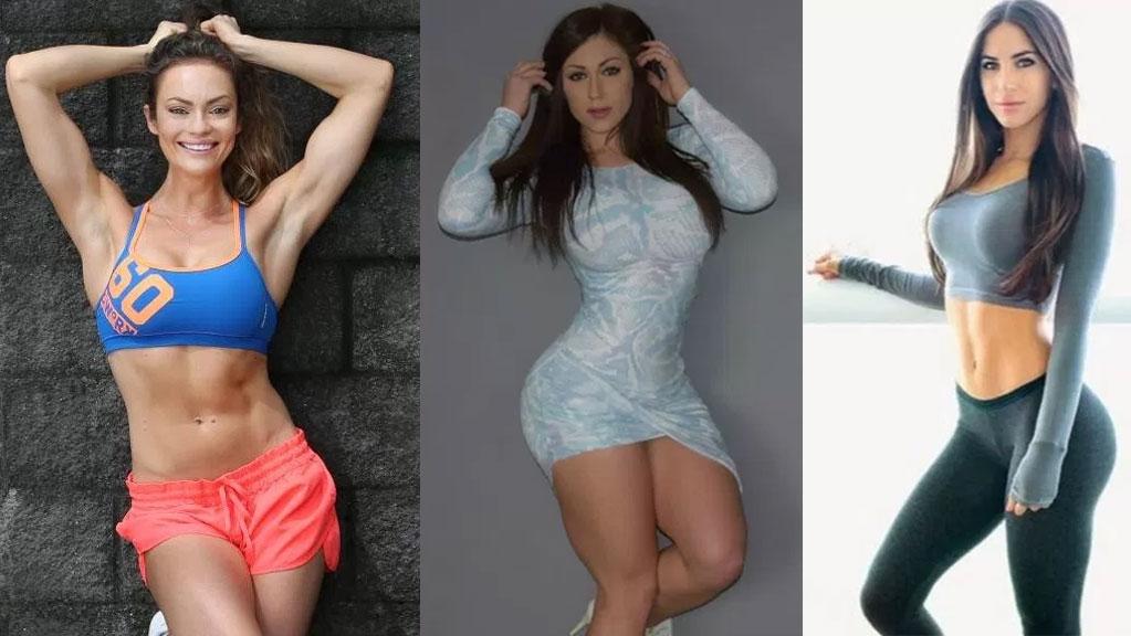 Instagram female fitness model