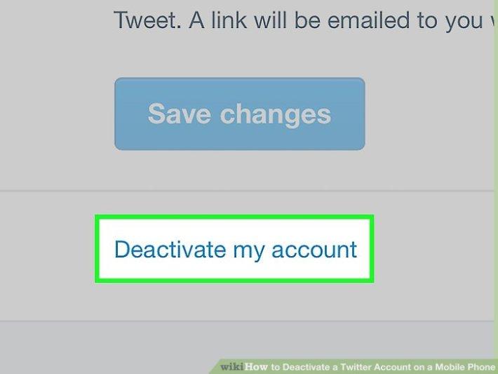 accounts deactivation
