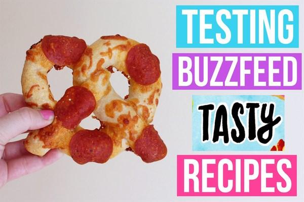 testing buzzfeed tasty recipes