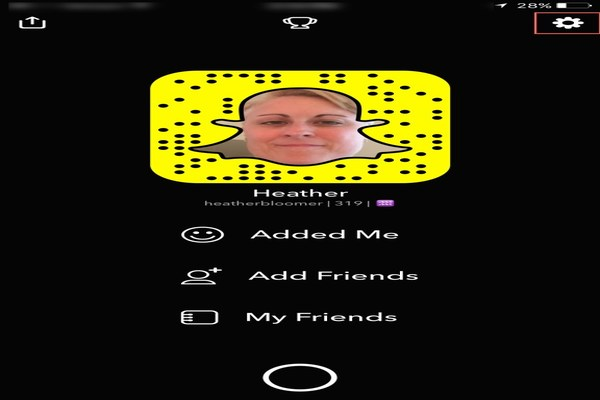 snapchat profile