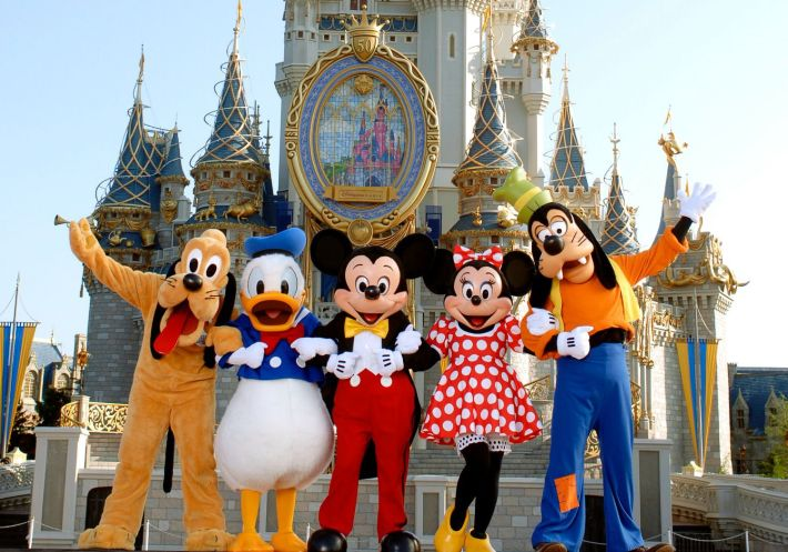 Disney Land Captions