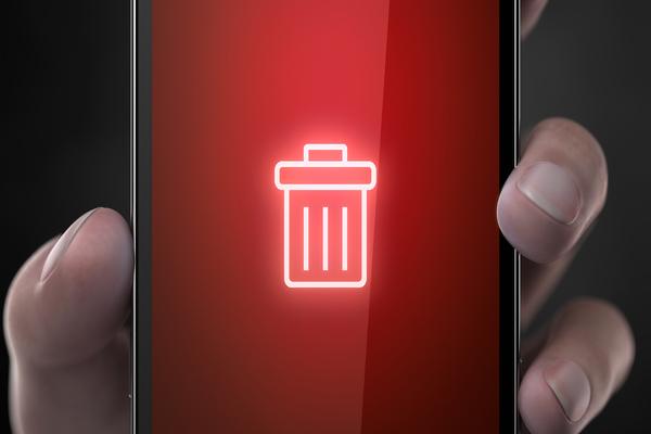 deleting app