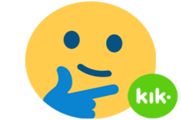 smiley with kik app