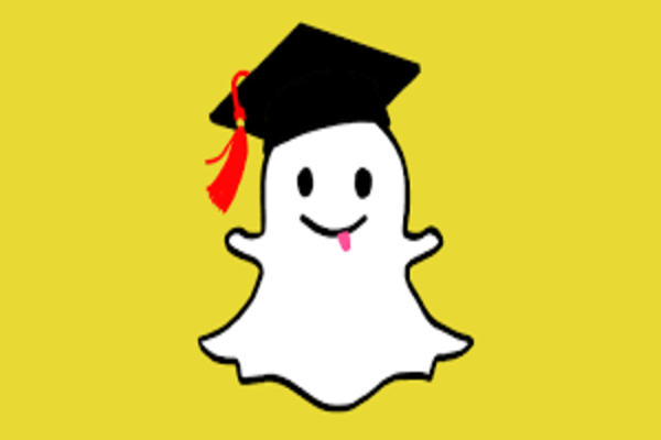 an image with Snapchat logo