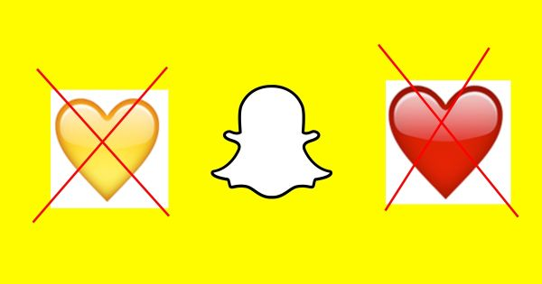 Snapchat Heart Emoji Disappear