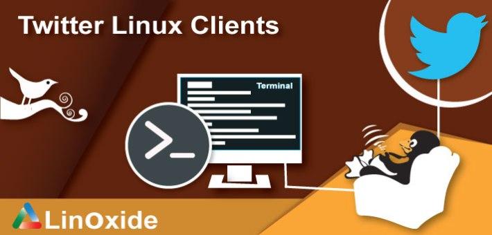 twitter linux clients