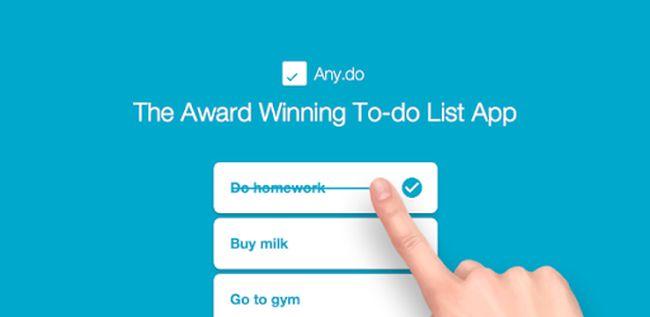 Anydo to do listing app
