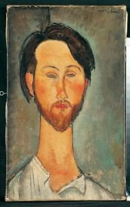 Ritratto di Zborowski - 1916 ©Pinacothèque de Paris/Fabrice Gousset