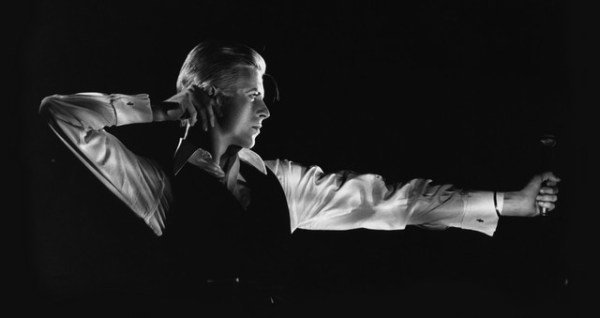 David Bowie The Archer Station to Station tour, 1976, ® John Robert Rowlands