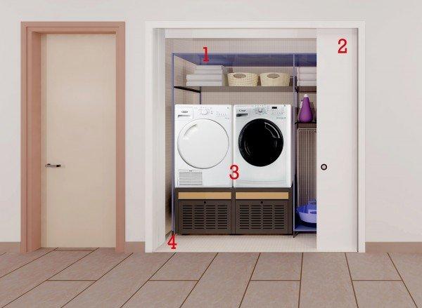 La lavanderia in 15 mq  Cose di Casa